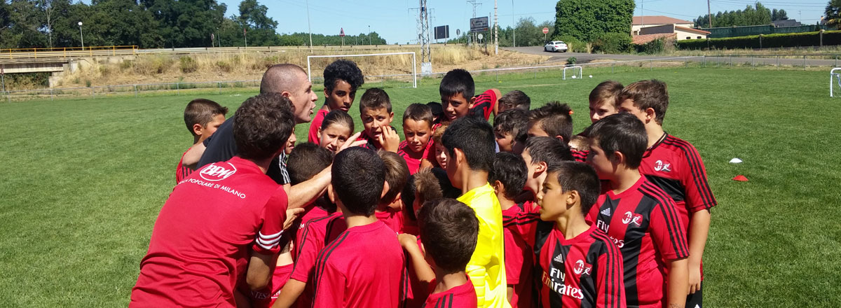 Milan Junior camp La Bañeza